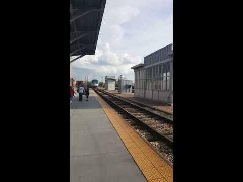 Amtrak New Orleans arriving in Jackson, Mississippi