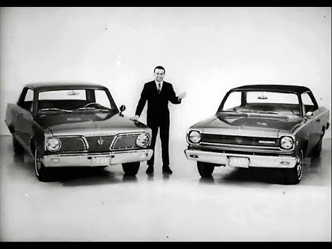 1966 Plymouth Valiant vs. AMC Rambler American Rouge Dealer Promo Film