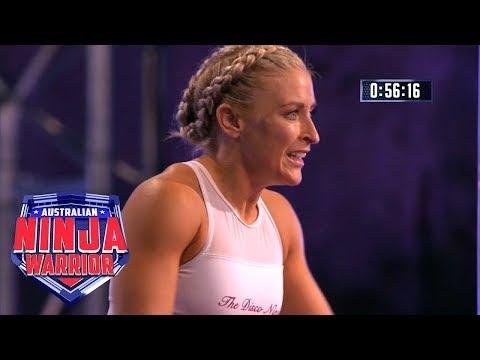 Performance of the Night: Betsy Burnett   Australian Ninja Warrior 2018
