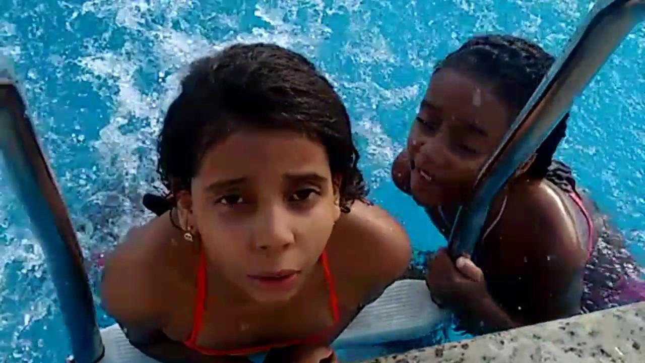 Desafio da piscina 😎 - YouTube