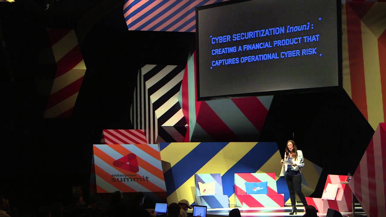 Web Summit 2014, Day 3. Enterprise Stage. Melody Hildebrandt ...