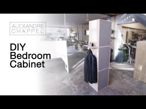 Diy Valcromat And Oak Bedroom Cabinet