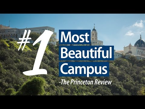 University of San Diego Ranked Most Beautiful Campus 2017 - The Princeton Review