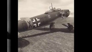 WW2 Luftwaffe Heinkel He 70 Picture HD - WW2 Lutwaffe Heinkel He 70 Imagen HD