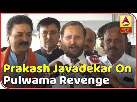 People Trust PM Modi: Prakash Javadekar On Pulwama Revenge | ABP News