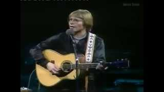 John Denver  in concert in London at Wembley Arena, 1979