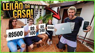 FINGI UM LEILÃO COM ITENS DA CASA!! ( NOVO MINI GAME ) [ REZENDE EVIL ]