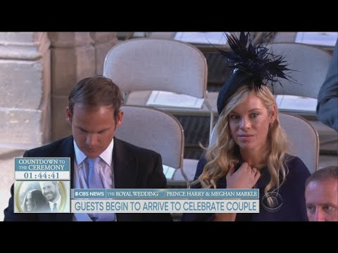 The Royal Wedding: Prince Harry's Ex's Arrive At Wedding, Including Chelsy Davy