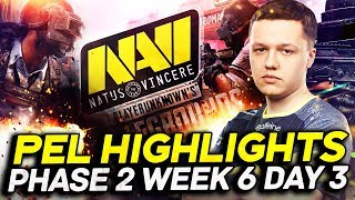 NAVI PUBG Highlights - PEL Phase 2 Week 6 Day 3