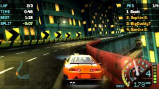[HD] PPSSPP 0.9.5 - Need For Speed Underground Rivals Gameplay