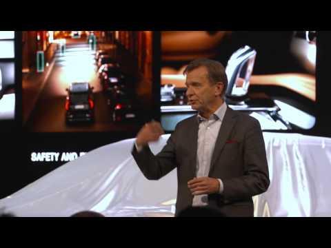 Volvo S90 Press Conference Volvo Car Group President CEO H kan Samuelsson