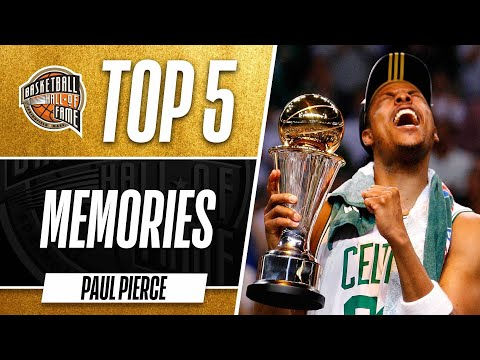 Top 5 Paul Pierce Memories
