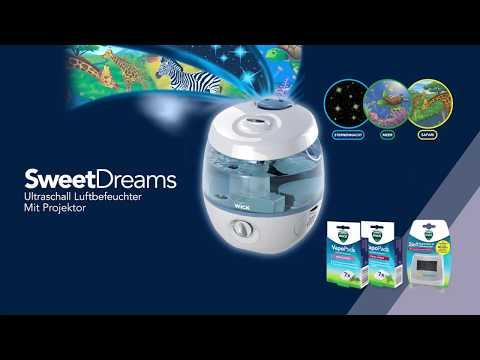 Ultraschall Luftbefeuchter Mit Projektor (WUL575)