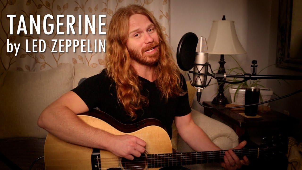 """Tangerine"" by Led Zeppelin - Adam Pearce (Acoustic Cover)"