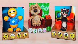 Download My Talking Pets In Real Life - Cardboard Games DIY