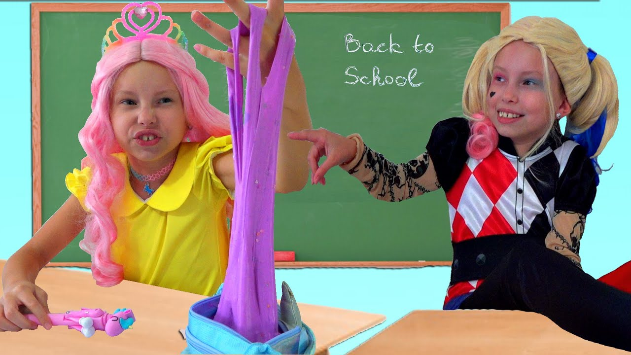 Alice and her First Day of School with friends