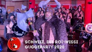 Schwiiz, die rot-wissi Guggeparty 2020 - Stiereschränzer Urdorf