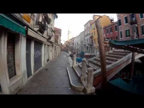 Venice, Walking from Basilica di Santa Maria to Olympia Hotel (Firefly 6S footage)