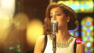 بالصور- وائل جسار يستكمل تسجيل ألبومه في حضور وليد سعد ومحمد ياسين