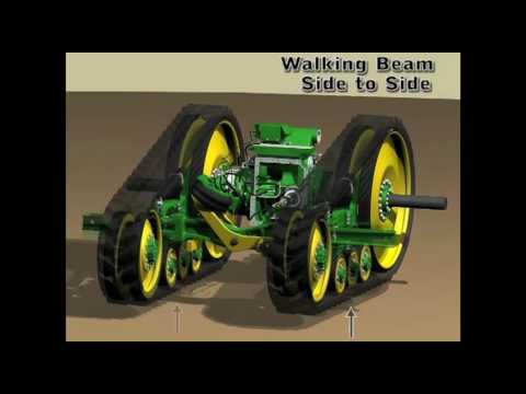 John Deere 8r Tractors Tracks V Tyres Youtube