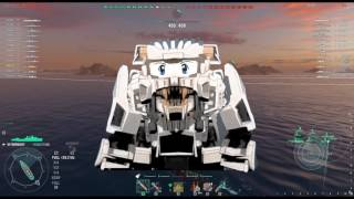Liger Zero Character Animation. Intro for world of Warships. Video Cartoon. Motion graphics