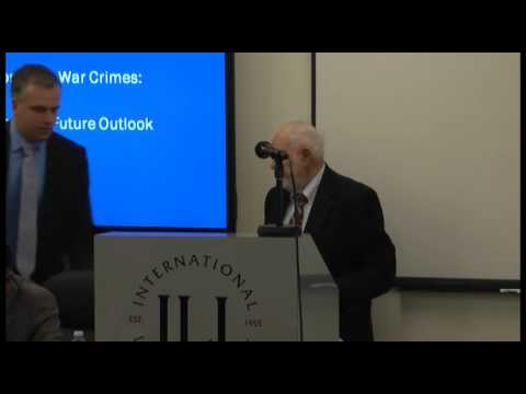 ICTS Seminar: From Terrorism to War Crimes:  Past Lessons and Future Outlook