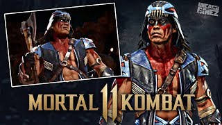 Mortal Kombat 11 - NEW Nightwolf Image Revealed & DLC Release Date Leaked?! / Видео