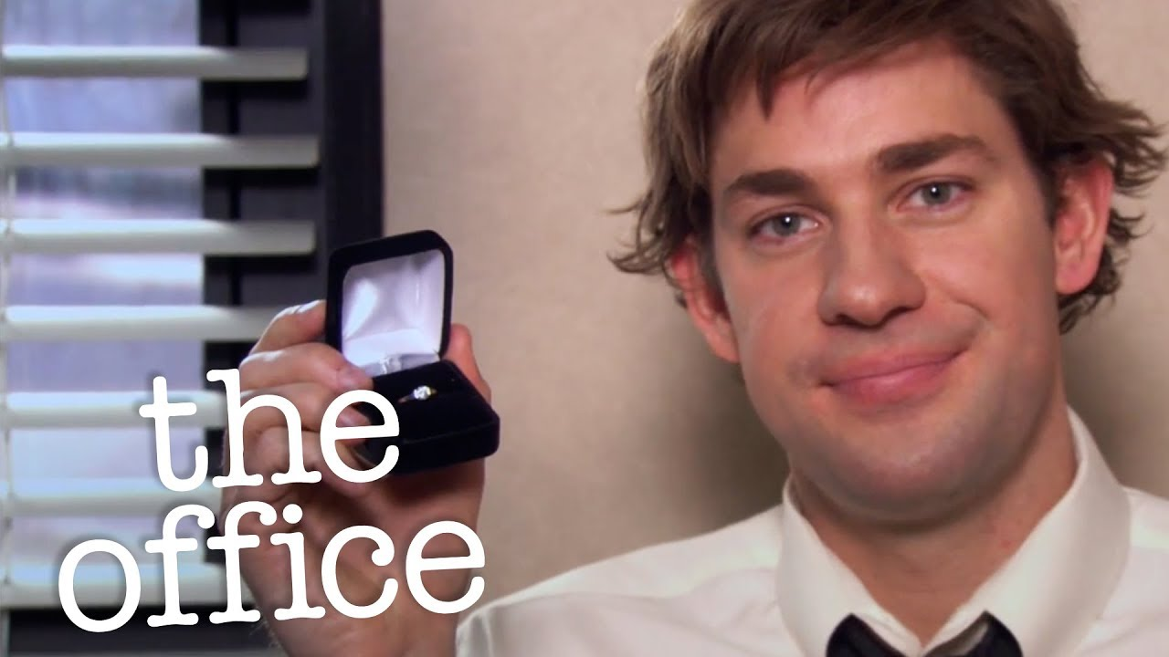 Jim and pam engagement