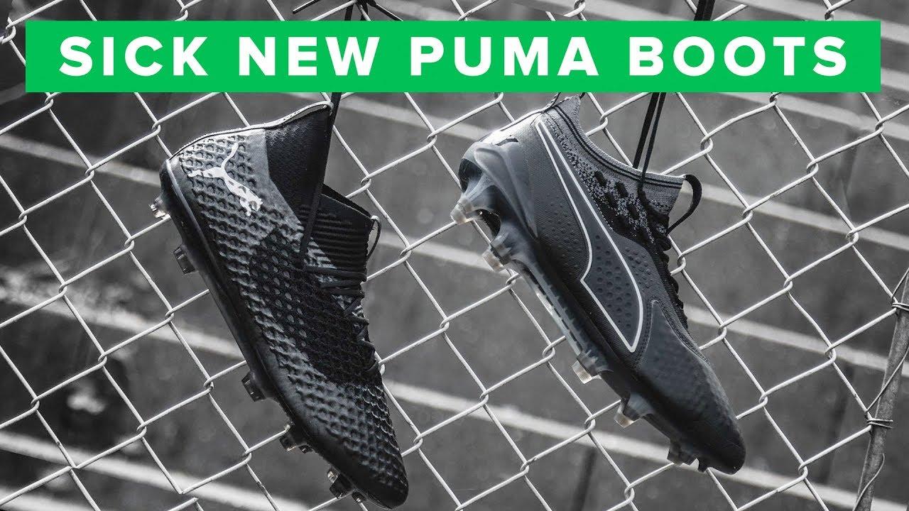 PUMA Eclipse Pack play test | Sick blackout boots
