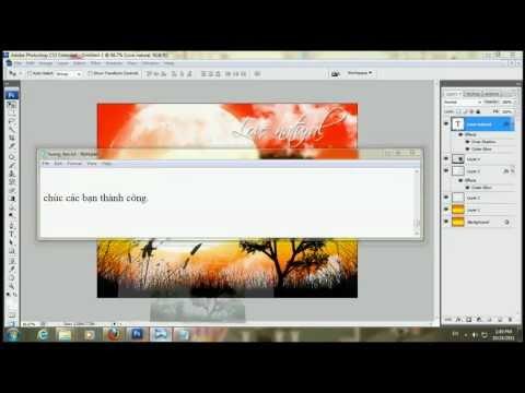 Làm theme đẹp với Brush trong Photoshop