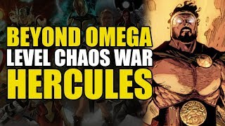 Beyond Omega Level: Chaos War Hercules | Comics Explained