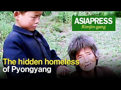 [North Korea Video Report] The hidden homeless of Pyongyang