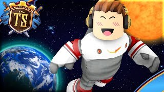 THE JOURNEY TO OUTER SPACE! -Space Shuttle | Danish Roblox
