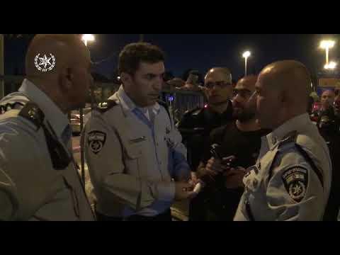 תיעוד: חיסול מחבל שניסה לדקור יהודים בליל יום הכיפורים בירושלים