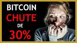 Chute des crypto-monnaies : QUE FAIRE quand le cours baisse ?