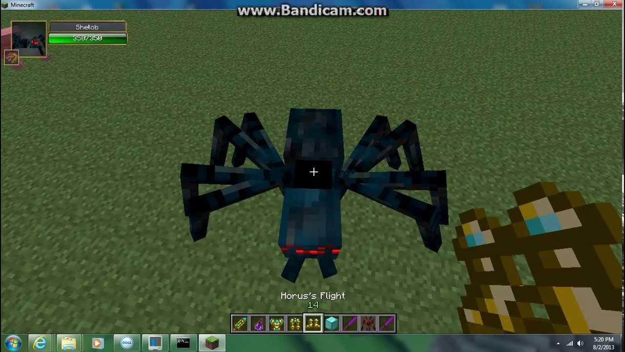 minecraft spider queen