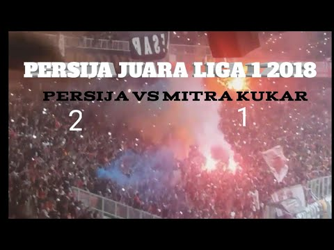 Highlight Persija vs Mitra kukar live dari GBK Mp3