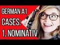Nominativ - Wer? Was? The German Cases Explained  Deutsch Fr Euch Grundkurs 2