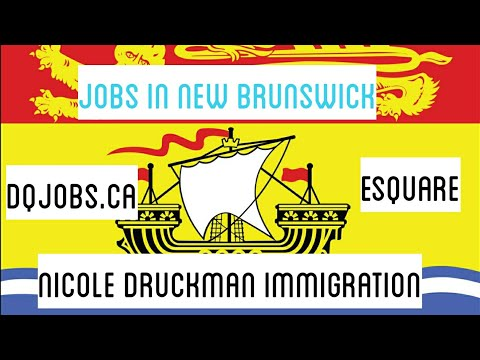 Jobs In New Brunswick, Canada