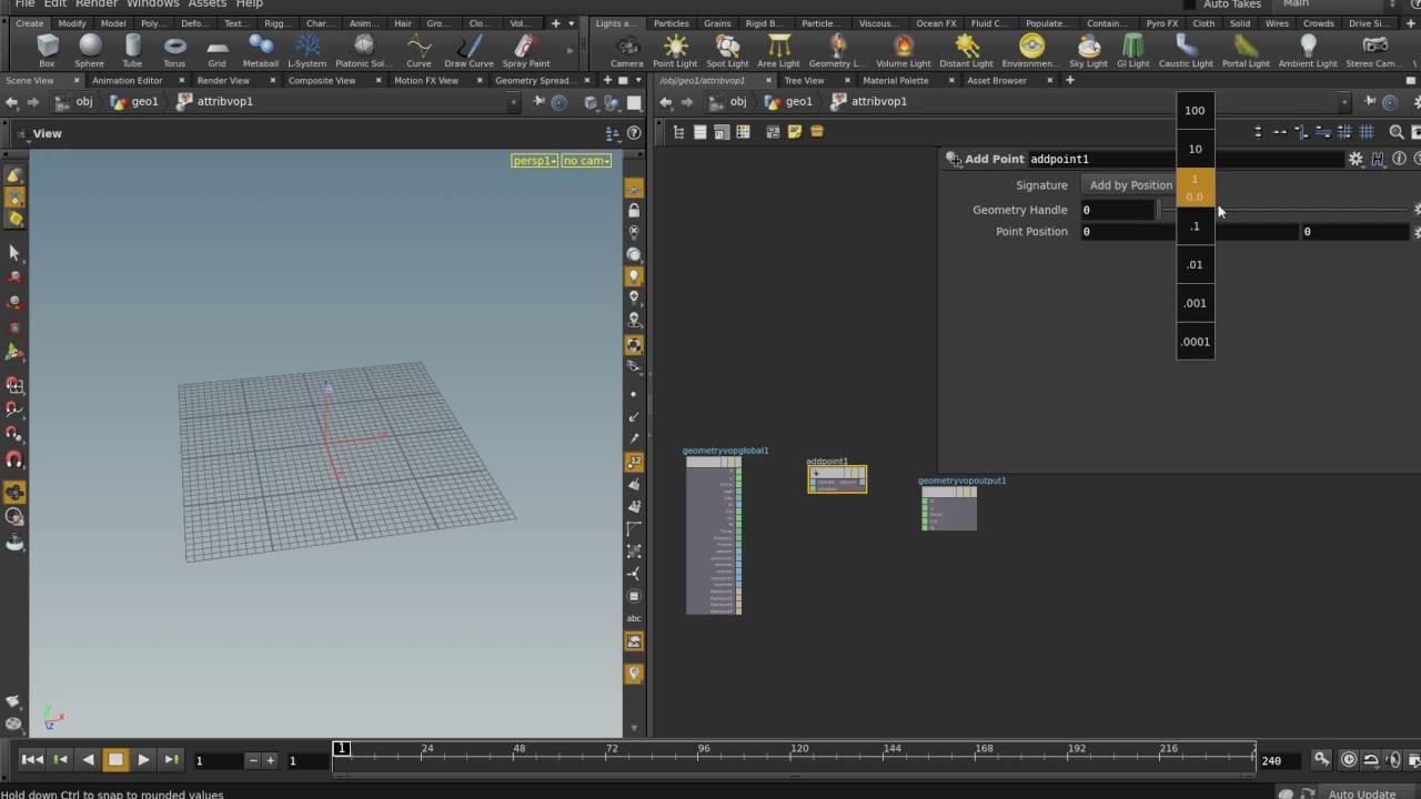 create point (vex basic)