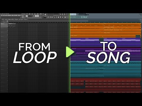 How To Turn Your Loop Into A Song - Inspiration and Production