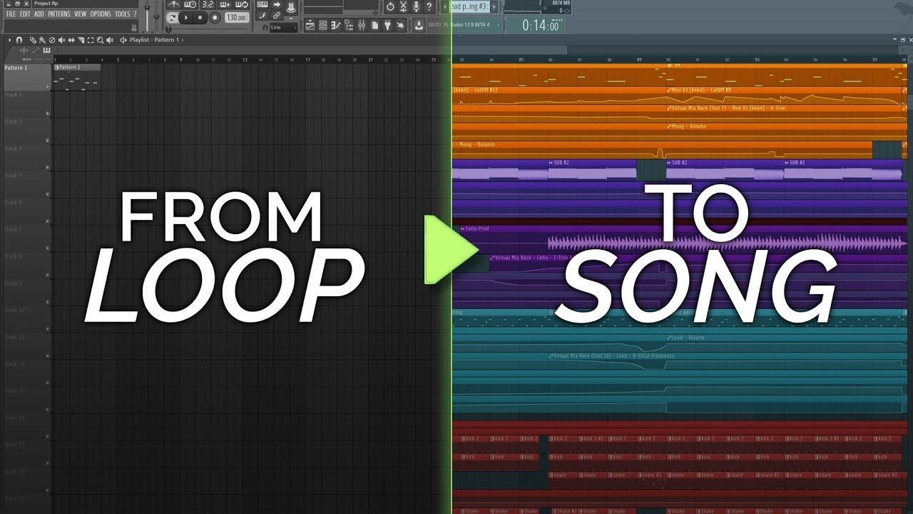 Download How To Turn Your Loop Into A Song #1 - Inspiration and Production