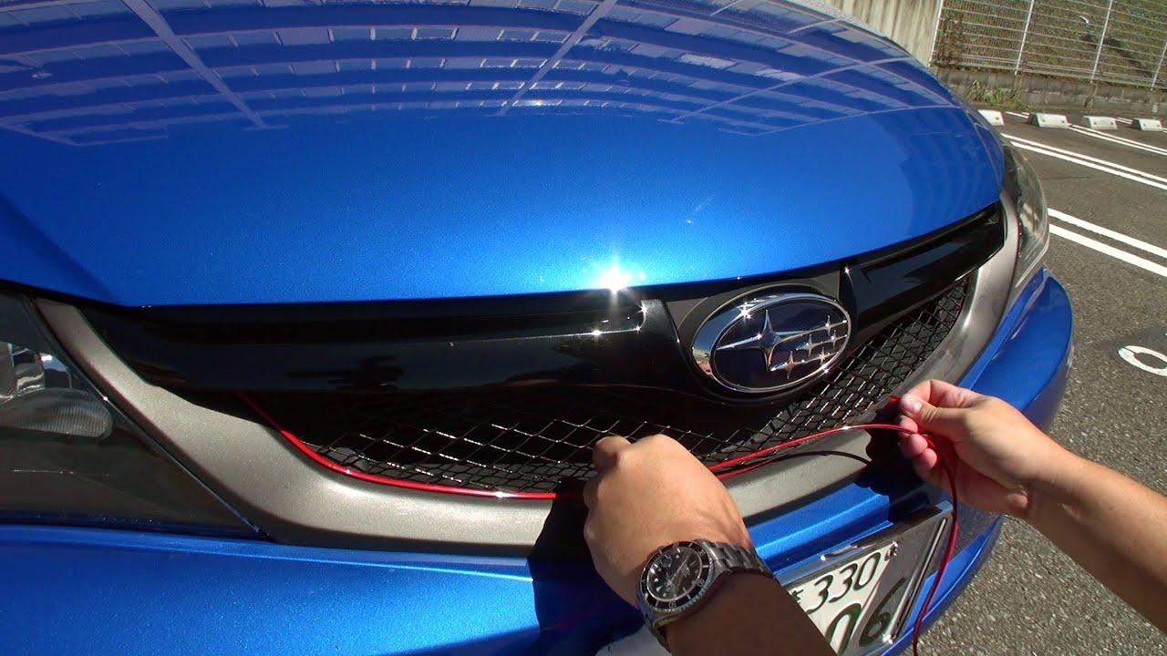 【実況車載動画】 愛車インプレッサをドレスアップしたり、買い物に行ったり Subaru Impreza , YouTube
