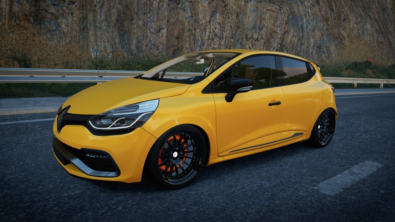 forza horizon 2 renault clio 4 rs 400hp youtube. Black Bedroom Furniture Sets. Home Design Ideas