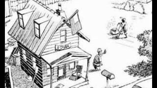 THE HOUSING CRASH ... Animated Editorial Cartoon