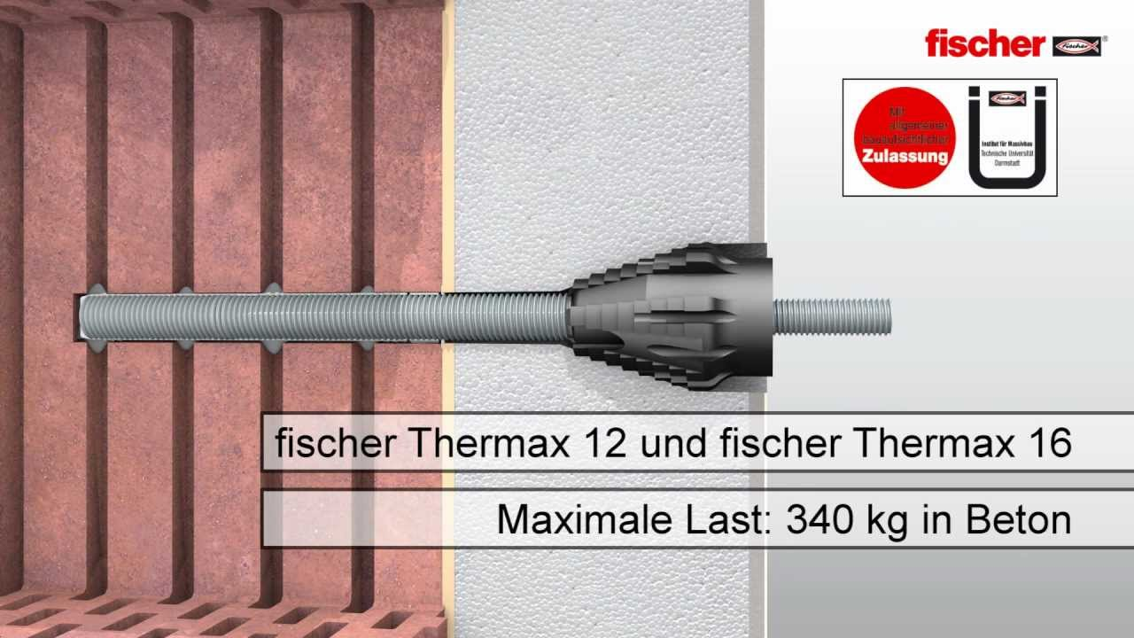 Fischer Thermax Markisen Montage Youtube