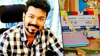 Vijay 61 Pooja Happened Today at ECR | Atlee, Jyothika
