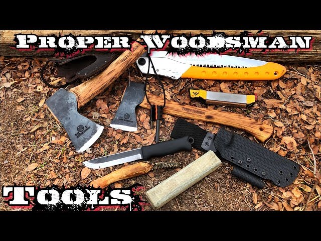 The 5 Tool Rule for Woodsman!