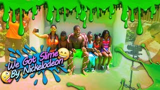 We Got Slime By Nickelodeon u0026 CAMARI LOST HER CAST OFF HER ARM!
