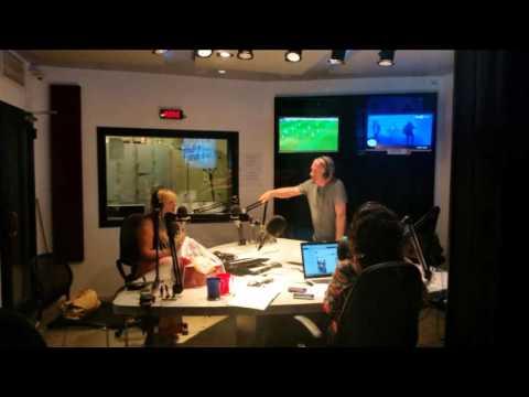 Móni Franzese invitada al programa de Julio Lagos en Radio El Mundo